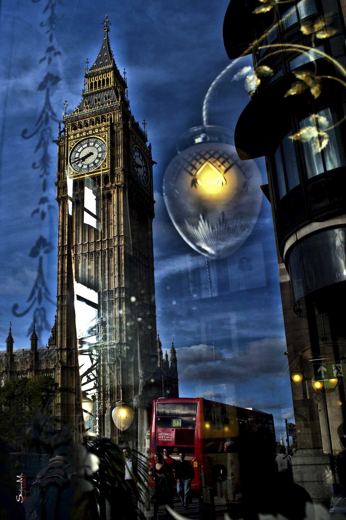 LONDRA - Postcard
